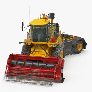 3D cmc saturne 5800 harvester model
