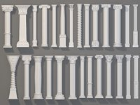 Columns Collection -1 - 27 pieces