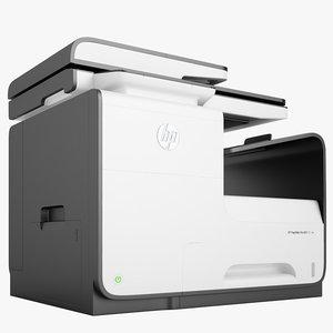 hp pagewide pro-fin 3D model