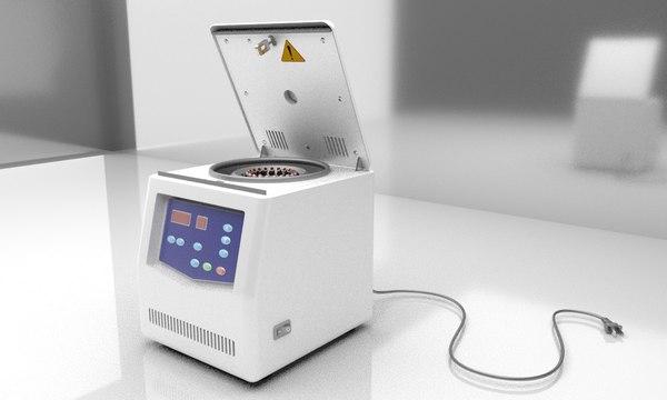 3D speed centrifuge machine