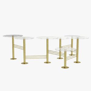 coffee table viva eichholtz 3D model