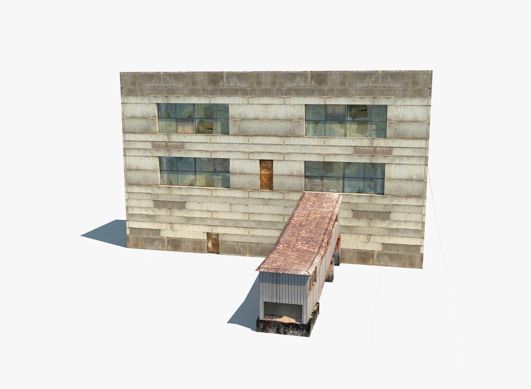 3D model building work