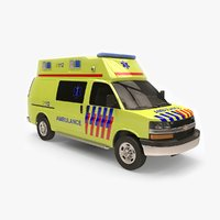 chevy express ambulance model