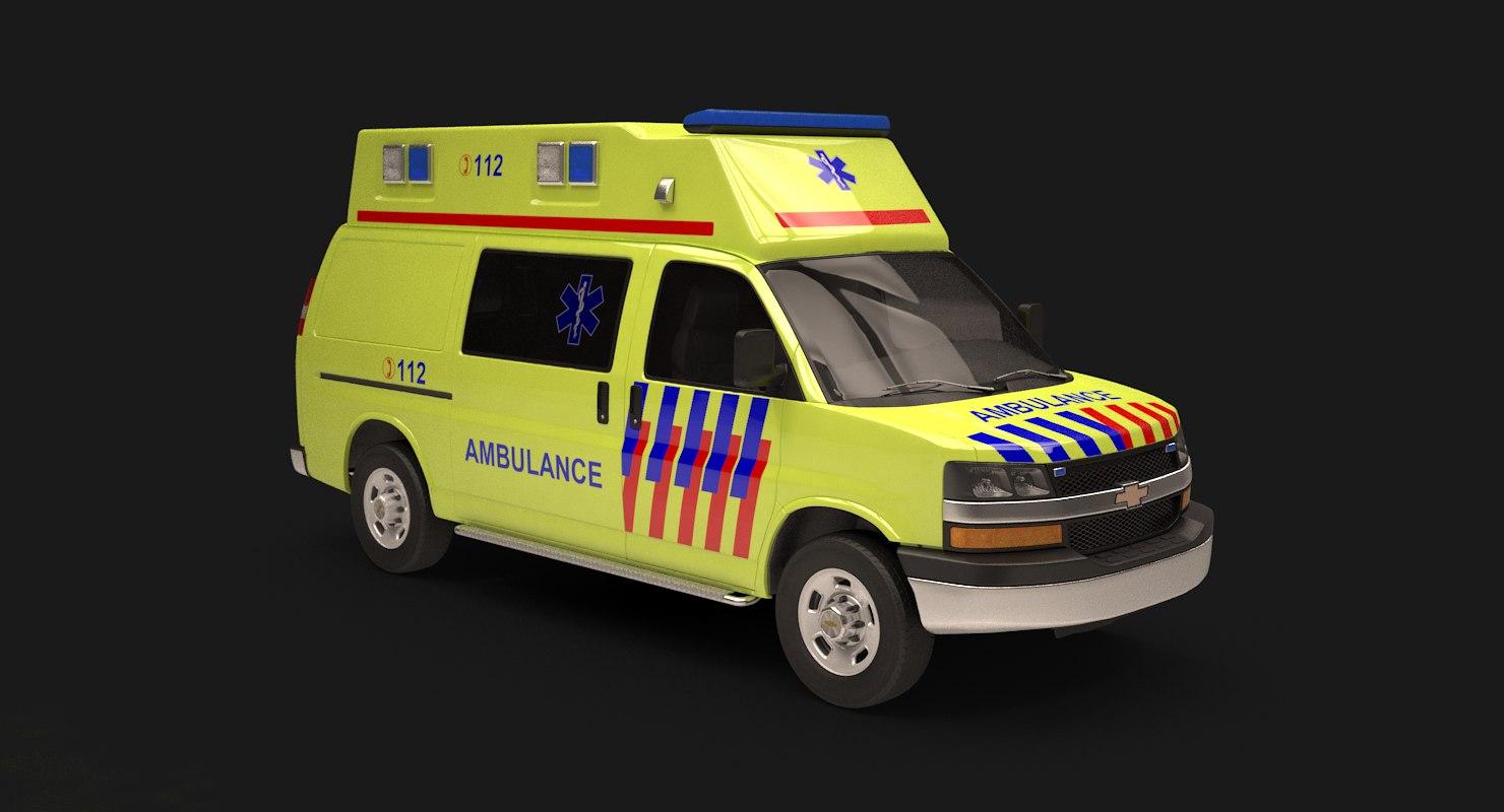chevy express ambulance model