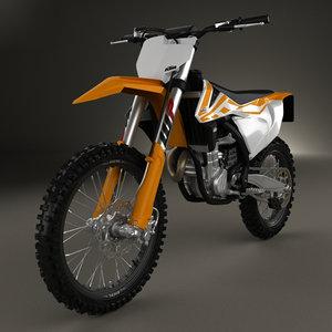 ktm 450 2016 3D model