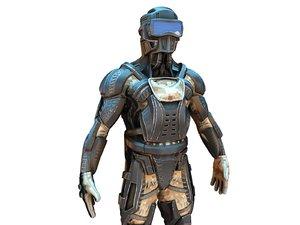 3D future ninja