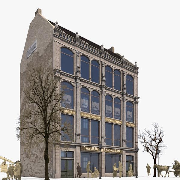 building koenigstrasse 21 historical model