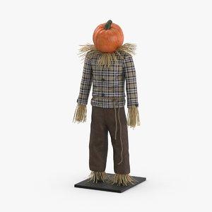 3D scarecrow-01 model