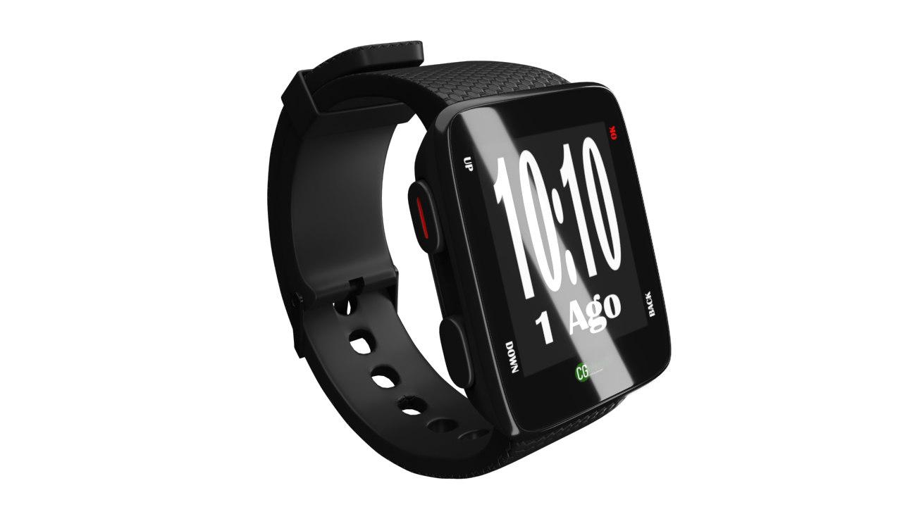 3D model watch smart