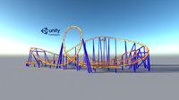 Roller coaster VR Unity PKG VR