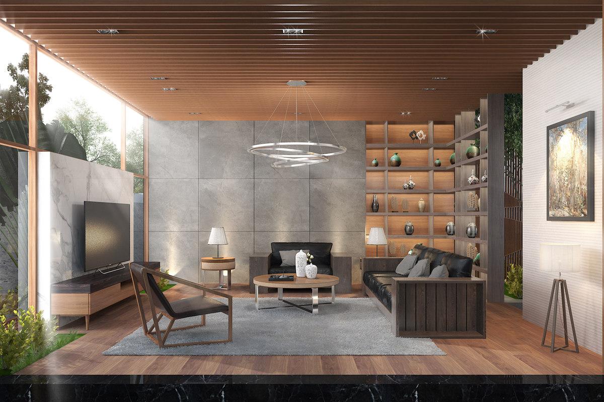 celling-light diningroom model