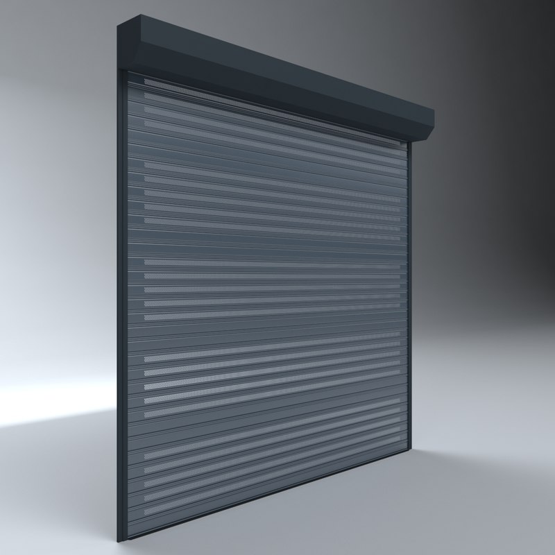 Garage Door Electric 3d Model Turbosquid 1330928