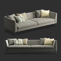 modern design sofa 3D model