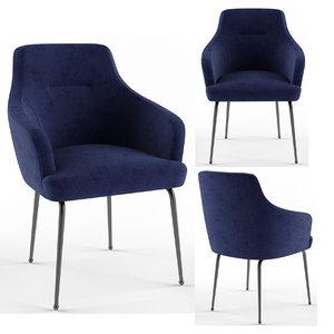 3D tosconova eli chair model