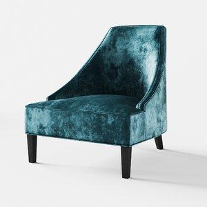 3D eichholtz chair dulwich model