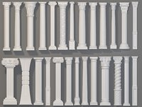 Columns Collection -2 - 26 pieces