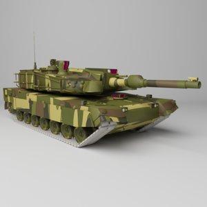 t military tank 3D
