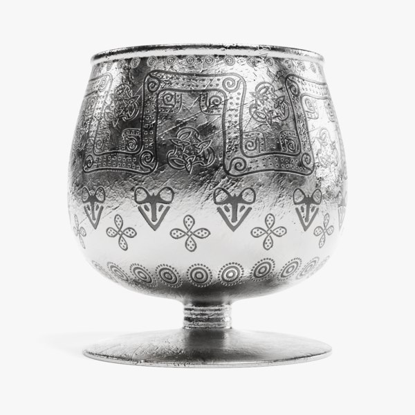 3D viking cup