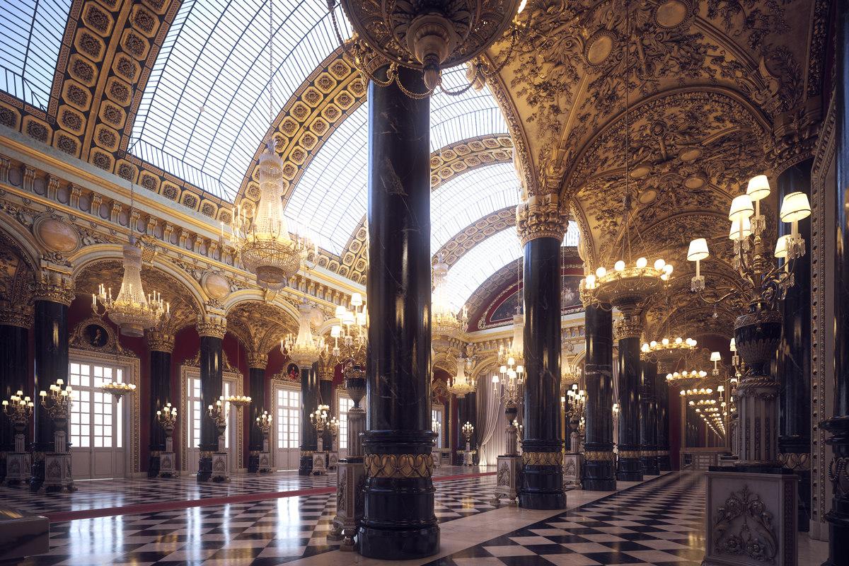 classical scene empire model