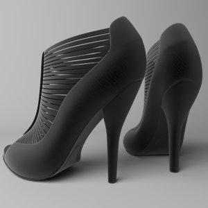 heel sandal 3D model