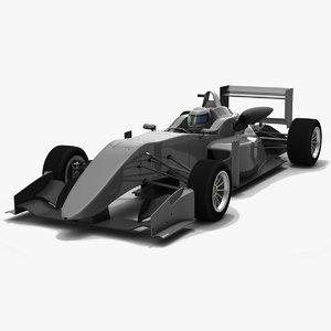 3D formula 3 f317 2018 model
