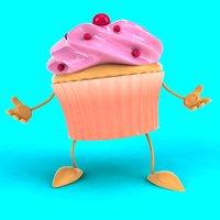 fun cupcake ! 3D model