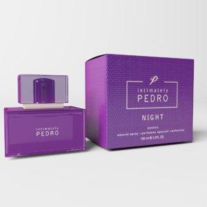 3D intimately pedro perfume model