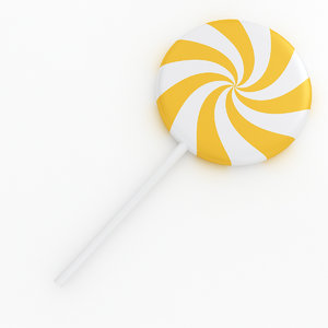 candy food sweet 3D model