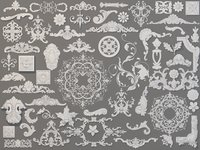 Carved Elements Collection -1 - 59 pieces