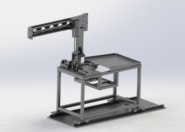 3D feeding manipulator