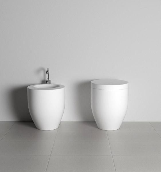 sanitary bathroom ceramica cielo 3D model