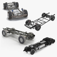 Vehicle Chassis 3D Models Collection