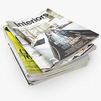 Magazines Open Set 3
