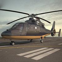 eurocopter as365 365 3D