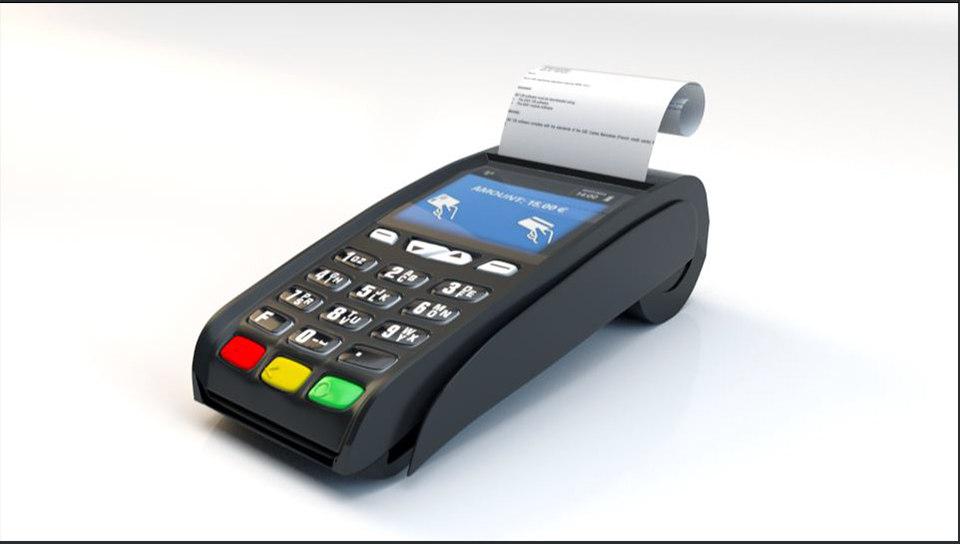 Kreditkarten-Terminal 6D-Modell - TurboSquid 1661058
