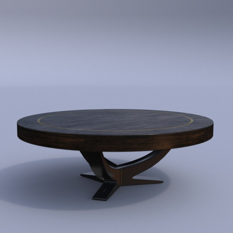 eichholtz umberto coffee table 3D model