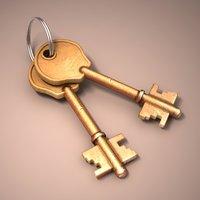 house keys model