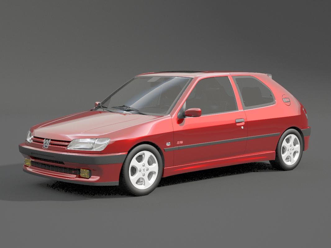 peugeot 306 s16 3D model