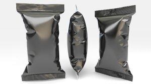 3D model food packaging v10