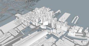 seaport future buildings bpda 3D