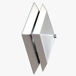 wall lamp augusta 3D model