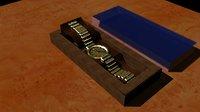 watch box 3D