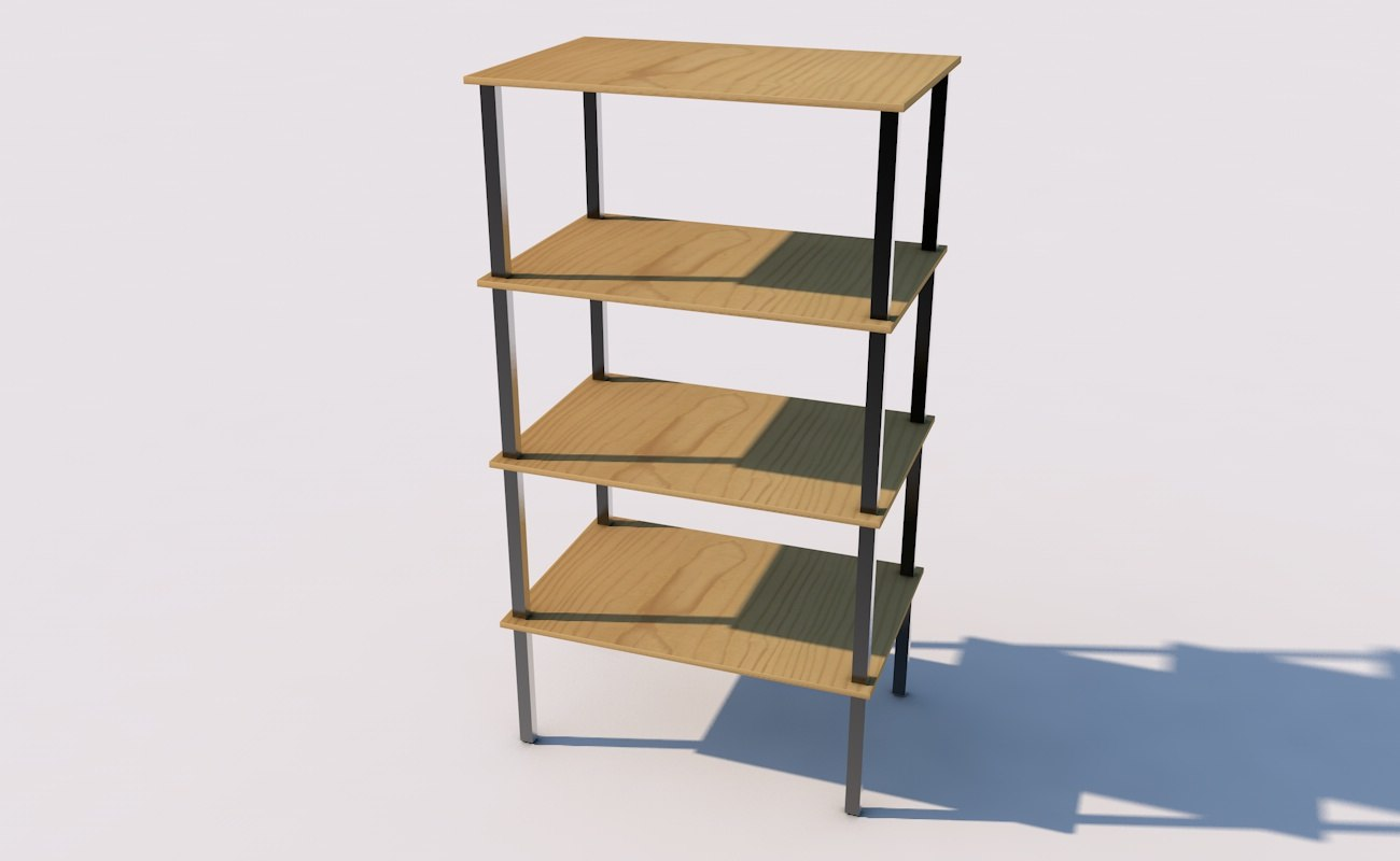 3D shelving shelf furniture