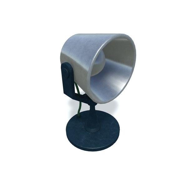 loudspeaker unity 3D model