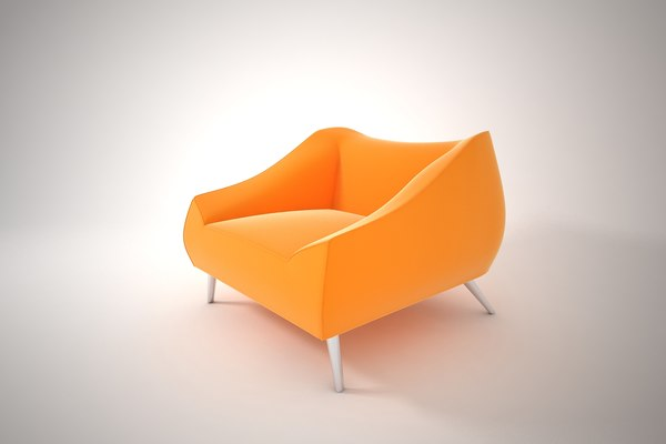 3D model furnishings furniture chair