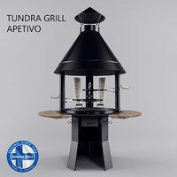 tundra grill - apetivo 3D model