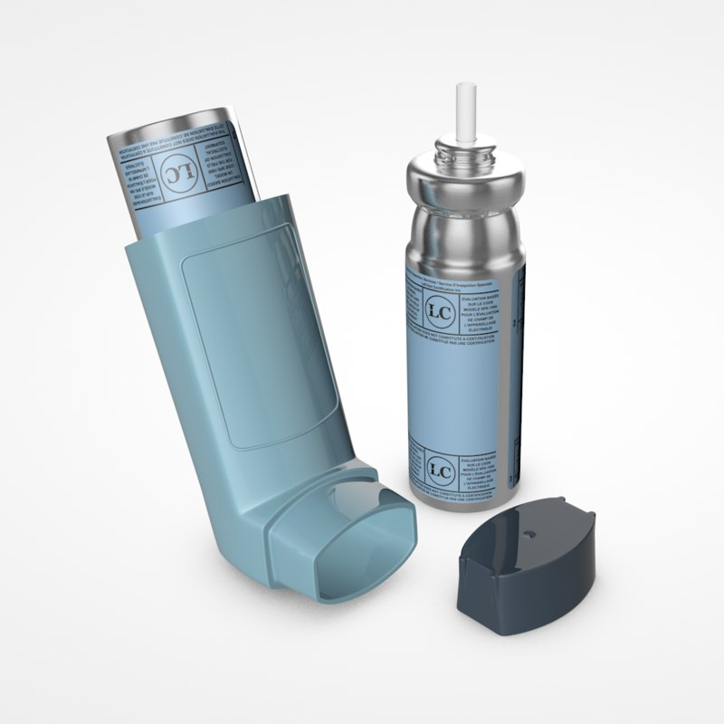 3D inhaler