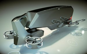 copter 3D model