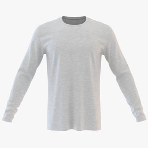 mens neck sweatshirt 3D model