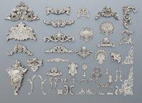 40 baroque ornaments
